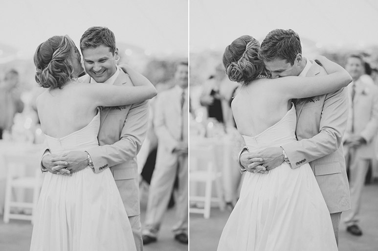 Willowdale Estate bride and groom first dance