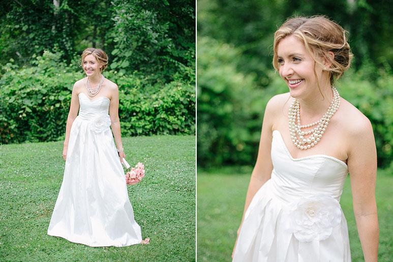 Willowdale Estate bridal portrait