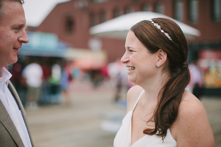 boston harbor wedding photographer