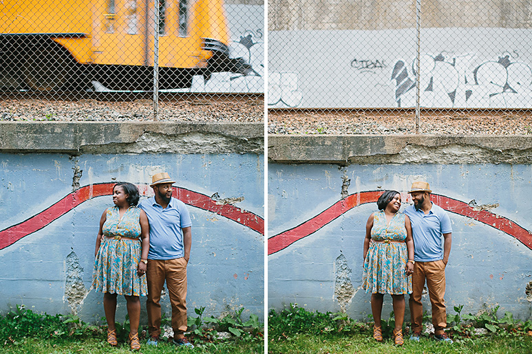 boston engagement session 0000 train