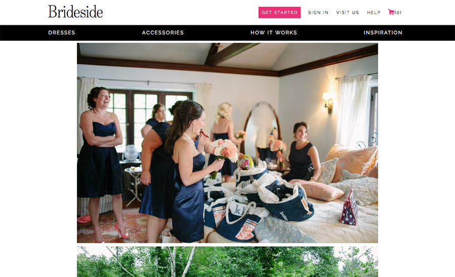 brideside feature natural wedding photographer