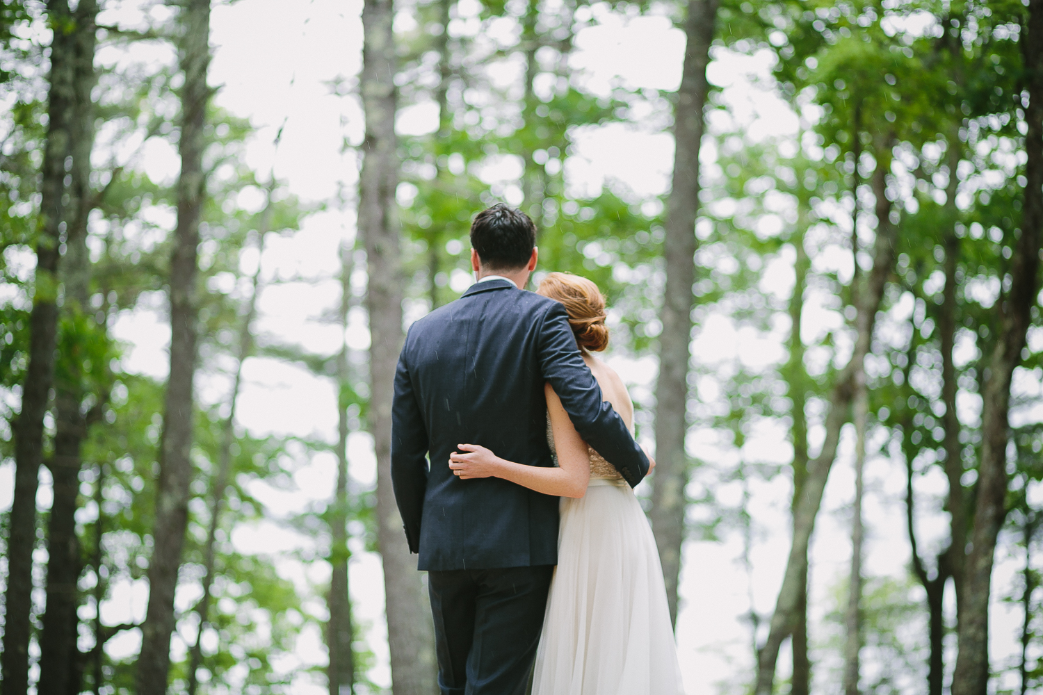 new hampshire camp wedding