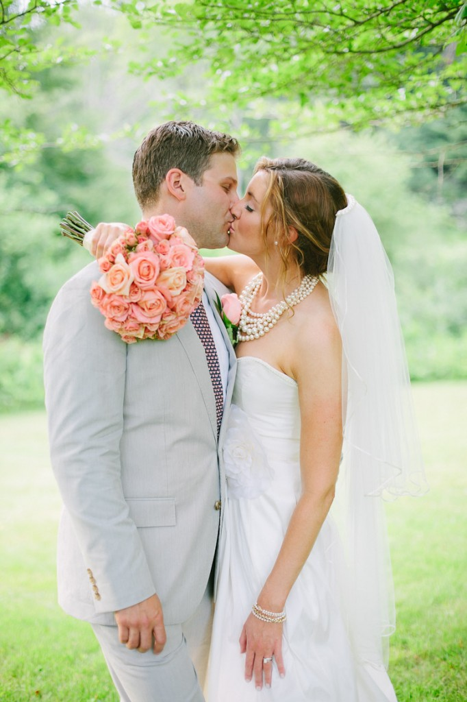 Willowdale Estate wedding portrait with bride and groom