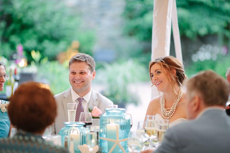 Willowdale Estate wedding reception toast