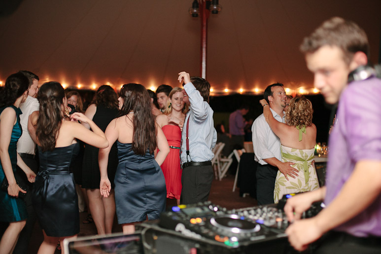Willowdale Estate reception dancing and DJ