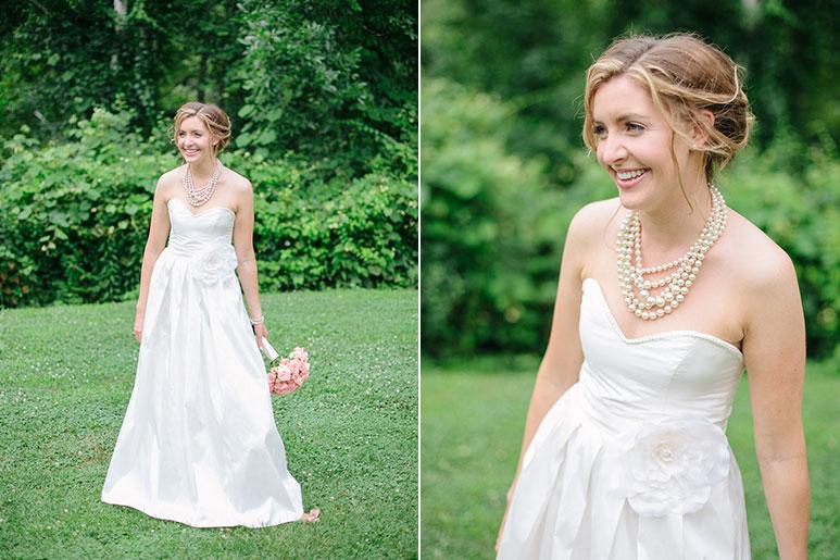 Willowdale Estate bridal portrait