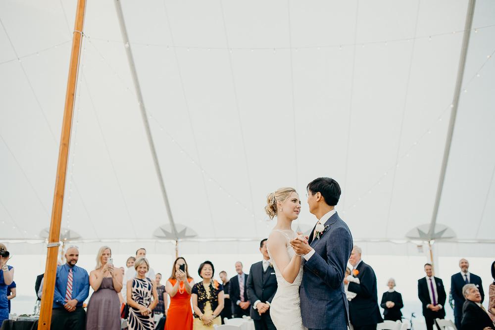 new england coastal wedding